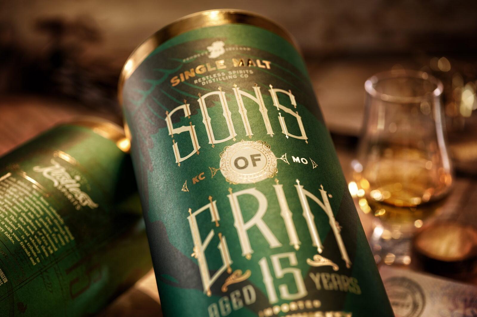 SONS OF ERIN – RESTLESS SPIRITS